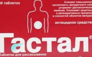 Гастал — эффективное средство для лечения панкреатита