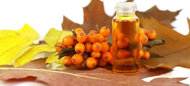 Польза облепихового масла при лечении язвы желудка