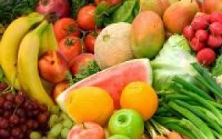 Какие фрукты и овощи можно употреблять при панкреатите?
