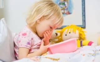 Наиболее частые причины рвоты после еды у ребенка