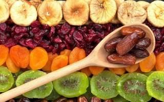 Какие сухофрукты можно при панкреатите?