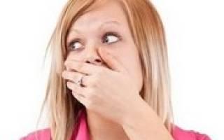 Причины появления и лечение привкуса ацетона во рту