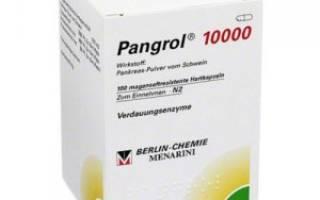 Результаты применения Пангрола 10000 при панкреатите