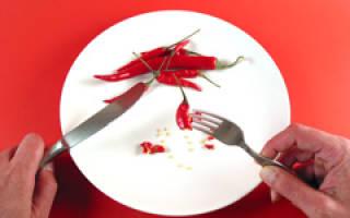 Лечебное питание и диета при язве желудка