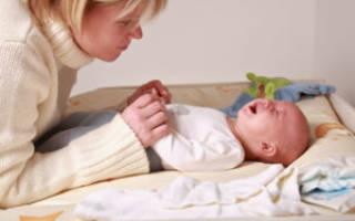 Что делать при возникновении запора у новорожденного ребенка