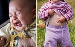Ребенок жалуется на боль в животе — возможные причины и помощь